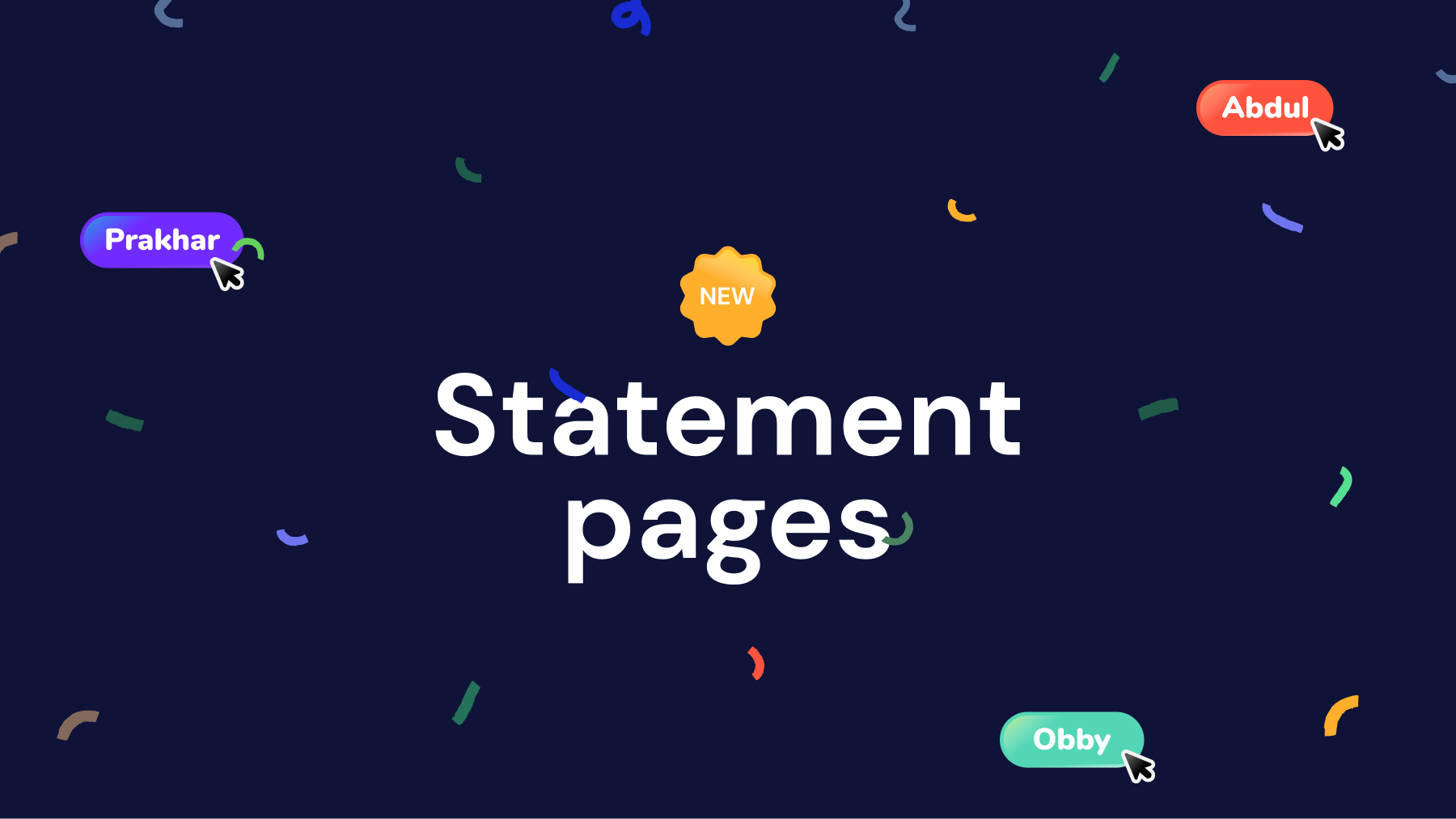 ✨Introducing Statement Pages — Mono